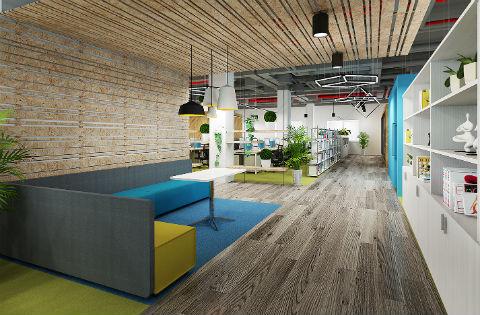 36氪(西直门公司)开冰淇淋店赚钱室装修设计工程