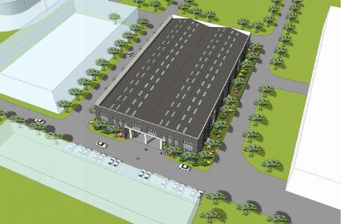 桑德集团办公百威2平台测速装修设计工程
