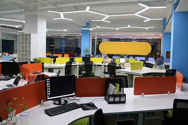 办公室装修设计之隔断设计