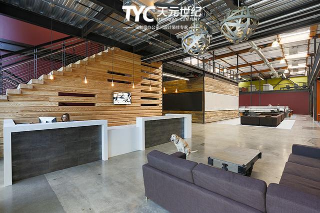 加拿大aai国际建筑事务所工业风办公室装修设计案例
