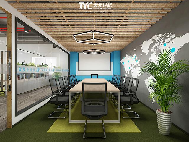 有质感的办公空间—36氪办公室装修设计欣赏