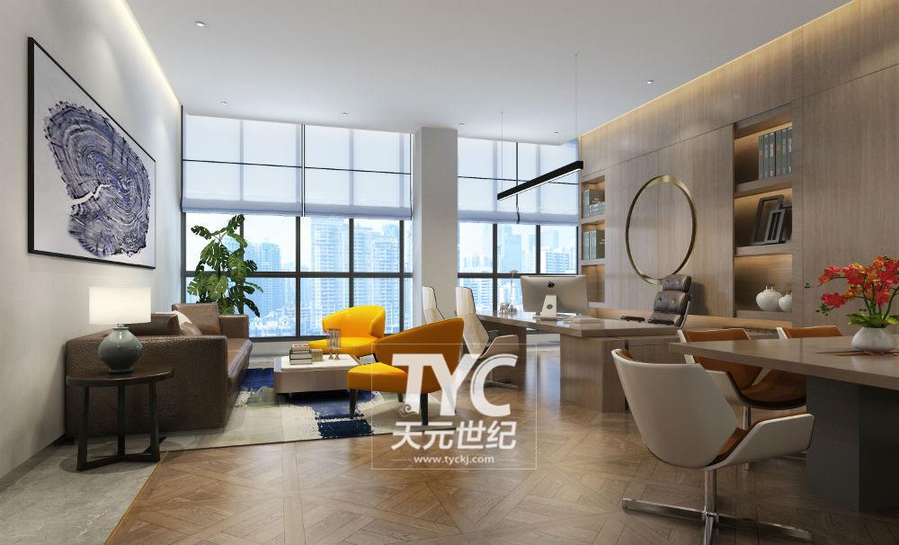 北京办公空间装修设计