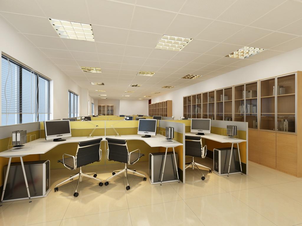 榆树庄房地产公司-北京办公室装修_办公室设计_办公室