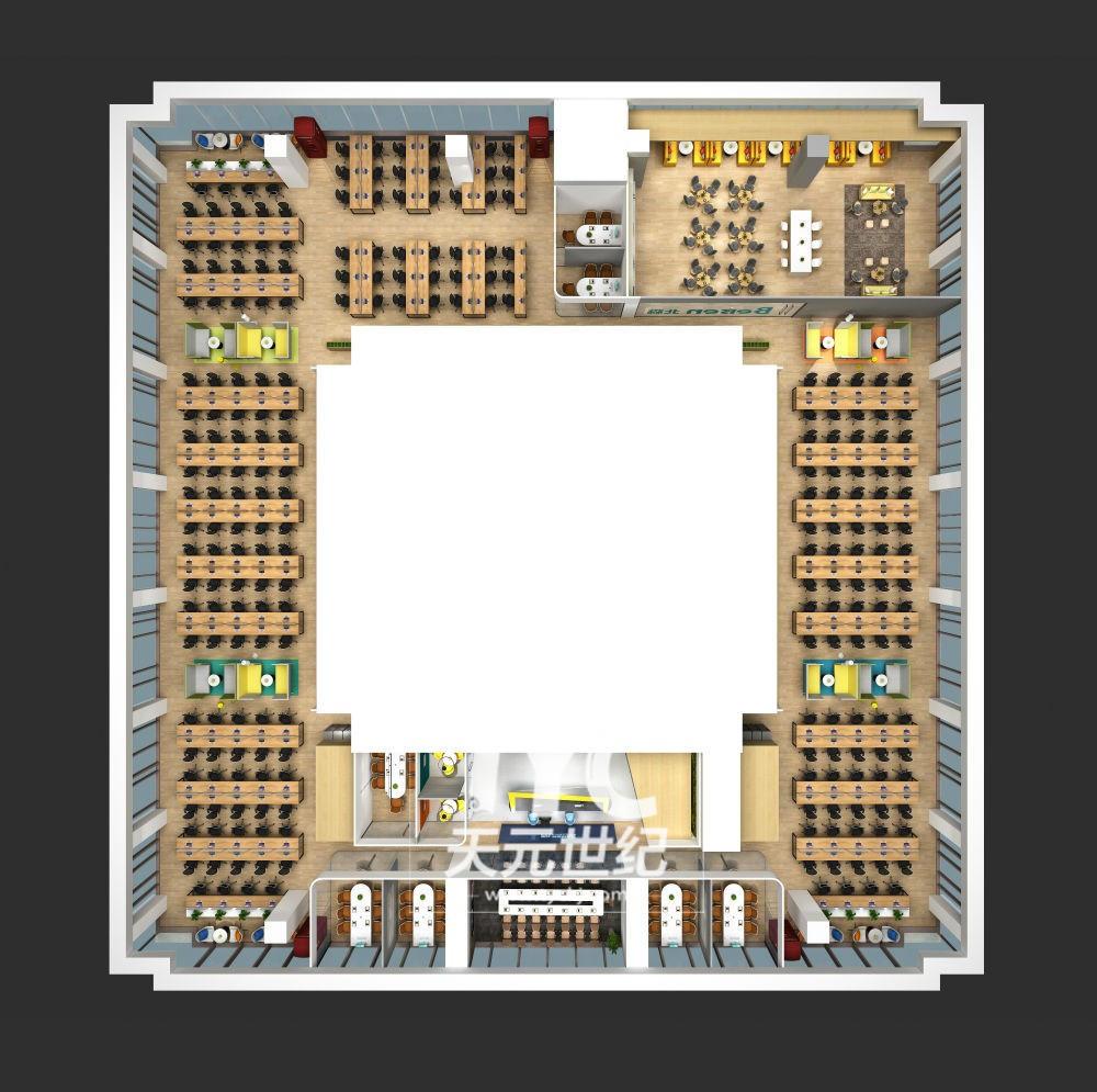 企业总部园区装修设计